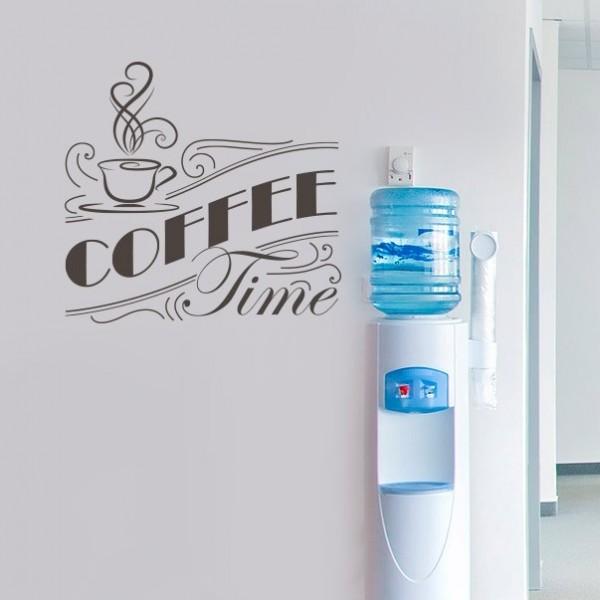 Sticker phrases cuisine coffee time