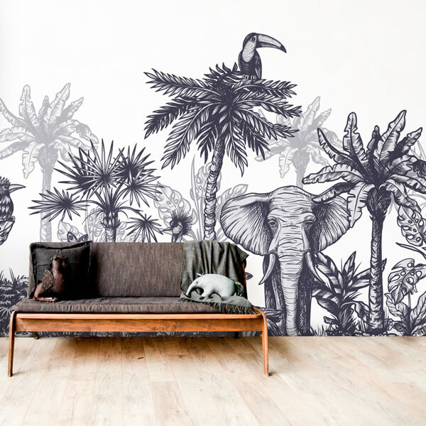 Photo murale animaux de la savane