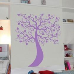 Autocollant mural arbre 12