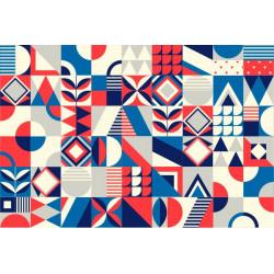 Stickers de carreaux colorés