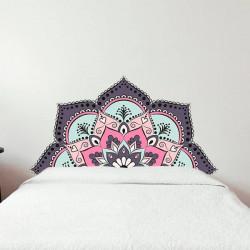 Sticker tête de lit Mandala