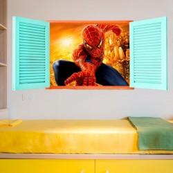 Fenêtre homme araignée