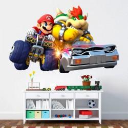 Autocollant Super Mario Bros