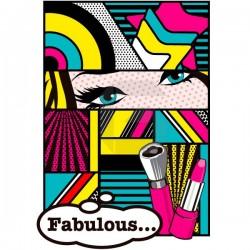 Sticker Pop Art fabulous