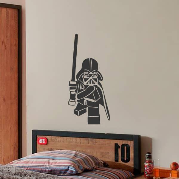 Sticker Lego Darth Vader