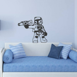 Autocollant Lego Stormtrooper
