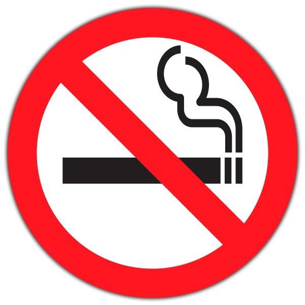 Sticker entreprise ne pas fumer