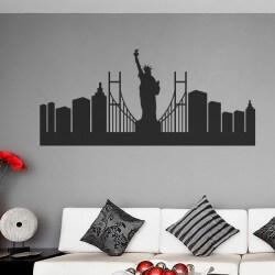Sticker skyline New York