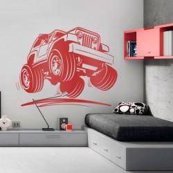 Sticker voiture tout terrain