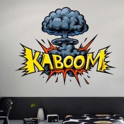 Sticker pop art explosion
