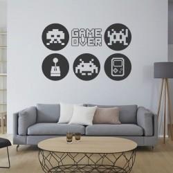 Sticker jeux vidéo