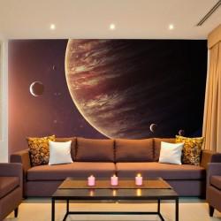 Papier peint planète Jupiter