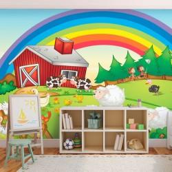 Papier peint animaux de la...