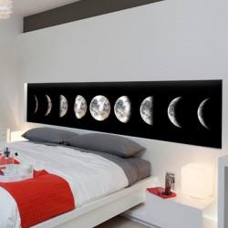 Papier peint phases de la lune