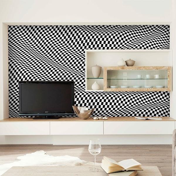 papier peint texture 3d. Black Bedroom Furniture Sets. Home Design Ideas