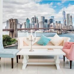 Déco murale panoramique de New York