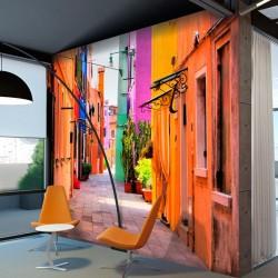 Papier peint rues d'Italie