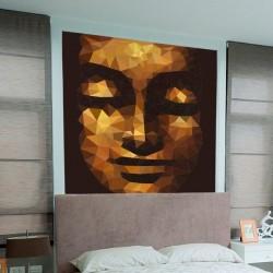 Papier peint visage de Bouddha