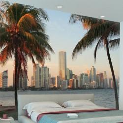 Papier peint Miami