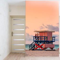 Papier peint  plage USA