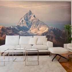Adhésif mural montagne