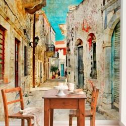 Poster rues de la Grèce