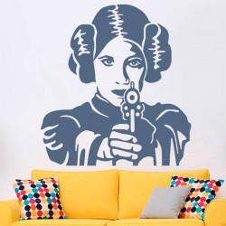 Sticker Mural Princesse Leia