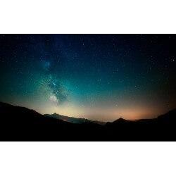 Ppaier peint ciel étoilé