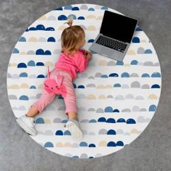 Tapis Vinyle Rond pour Enfants