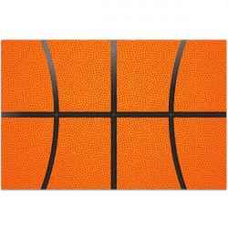 Tapis Vinyle Motif ballon de basket