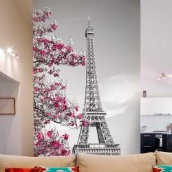 Adhésif mural tour Eiffel
