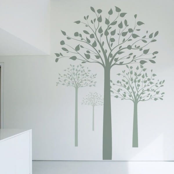 Arbre 2 Stickers Muraux
