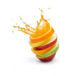 Sticker cuisine fruits mélangés