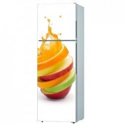 Sticker cuisine fruits...