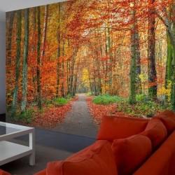 Papier peint l'automne à la...