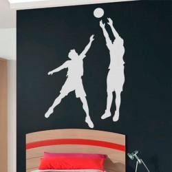 Sticker joueurs de basket