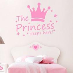 Autocollant the princess