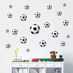 Sticker ballons de foot