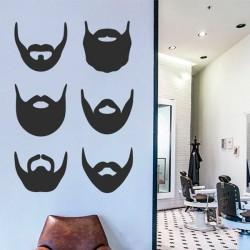 Adhésif styles de barbe