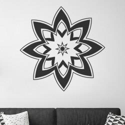 Mandala étoile à huit branches