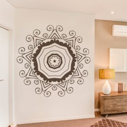 Sticker mandala ornemental
