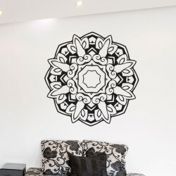 Adhésif mandala octogonal