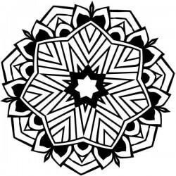 Mandala toile d'araignée