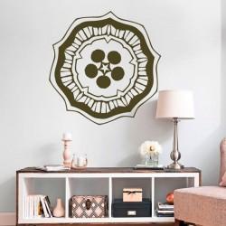 Mandala étoile et cercles