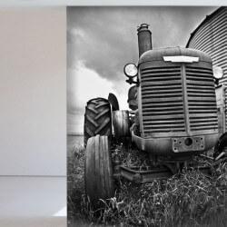 Papier peint tracteur