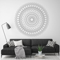 Sticker déco mandala