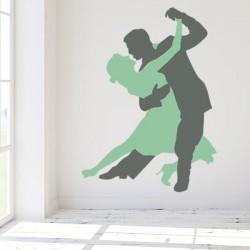 Autocollant mural tango