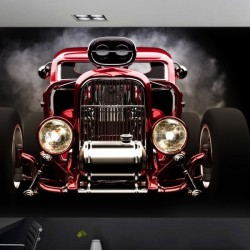 Déco murale Hot Rod