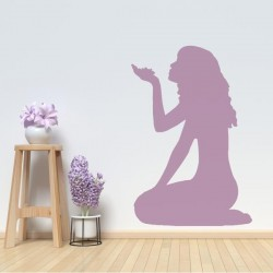 Sticker silhouette femme