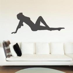 Sticker femme sensuelle